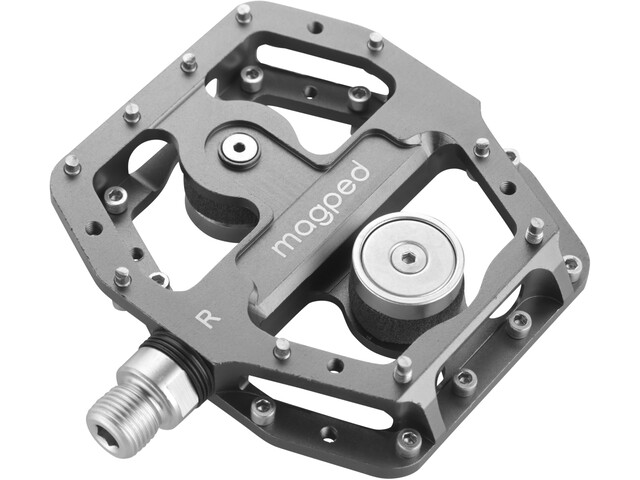 magped Enduro Magnetic Pedals grey